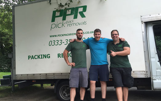 Pick Pack home removals team