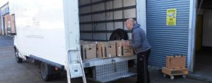moving home contents into Hertfordshire storage unit